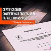 ALQUILO TITULO CAPACITACION TRANSPORTE 100€